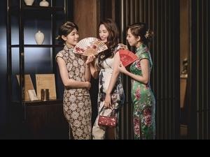 和姊妹們一起化身府城美人,台南晶英酒店推出旗袍體驗住房專案