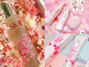 這些回購率100%的神級經典品也換上櫻花包裝 又美又好用