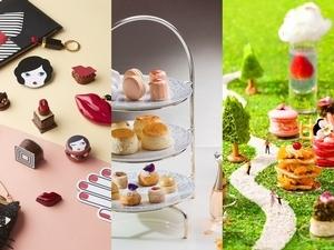 時尚聯名V.S.創意主題,打造春天浪漫午茶時光