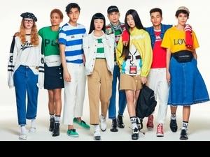 LINE跨界時尚圈啦!聯名韓設計品牌pushBUTTON A11上市