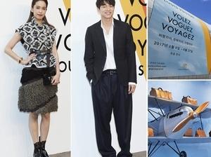孔太太表示羨慕!陳庭妮與孔劉歐爸甜蜜合照 現身首爾LV展覽