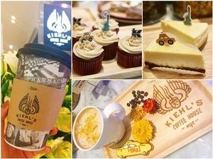 一吃就上癮的起司蛋糕、紅絲絨杯子蛋糕還有限定金盞花拿鐵 都在全球第一間 Kiehl's Coffee House吃得到
