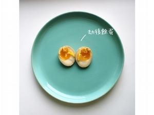 江鵝【俗女日常】<br>醃溏心蛋用玻璃盒