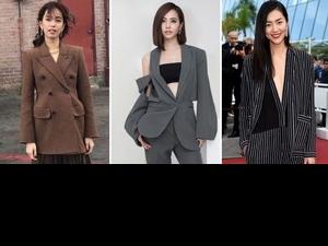 學蔡依林、陳庭妮霸氣外漏!寬肩西裝+格紋才是秋季衣櫥真王牌