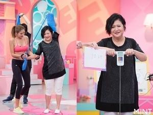 陳思璇傳授在家輕鬆瘦 崔佩儀一量體重GG了