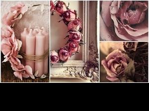 不只柔美的乾燥玫瑰色
