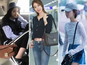 女明星撞包也要揹!延燒鬼怪妹妹劉仁娜、歐陽娜娜的Longchamp小姐變身新寵IT包