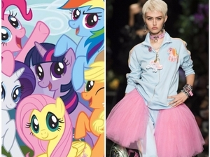童年滿滿回憶!Moschino x Hasbro跨界推出彩虹小馬Pony系列