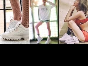 不只夠潮還能增高!台灣、韓國限定販售FILA DISRUPTOR2粉紅鞋這樣搭配分分鐘帥又美!