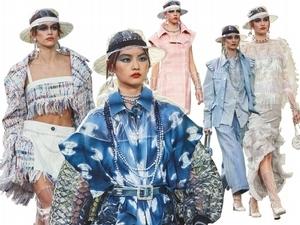【2018春夏巴黎女裝周】Chanel    水的能量在蔓延