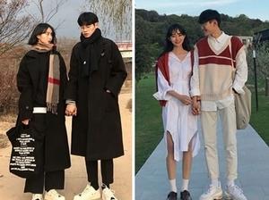 誰說一定要穿一模一樣!跟著韓國網紅情侶搭出剛剛好的情侶裝