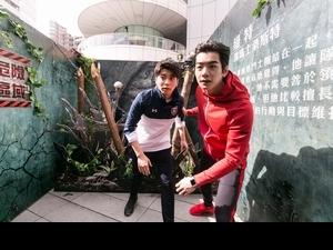 「移動迷宮」三部曲12小時馬拉松首映 禾浩辰自爆最愛民豪