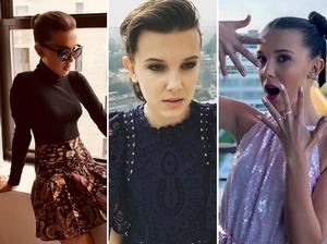 時尚界、好萊塢的明日之星!《怪奇物語》11號女孩米莉·芭比·布朗的幾件小趣事