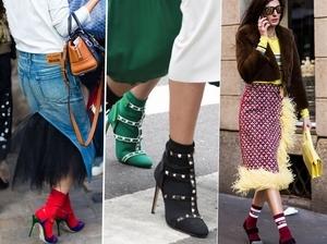 襪套持續火熱!早春請購入一雙搶眼襪子、穿上高跟涼鞋稱霸街頭