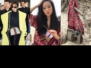 孫芸芸海島度假曬自拍,但最好看的還是她的這咖鏈袋包,就連呸姊都淪陷!
