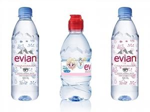 喝水也要可愛+時髦!evian x CHIARA FERRAGNI/迪士尼聯名設計款新上市