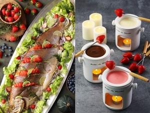 全台最高buffet「50樓Café」推「莓好時光」季節限定主題,百變甜美「莓」味任你吃
