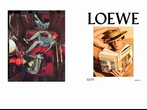 LOEWE 2018秋冬大秀零時差直播!