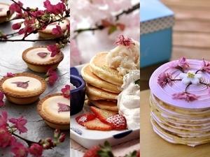 粉嫩的甜蜜滋味!櫻花季限定甜點繽紛上市