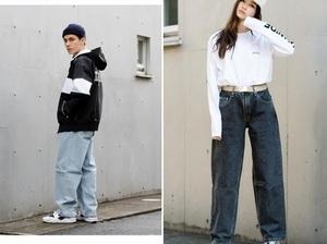 90復古風回歸!潮人現在最愛的LEVI'S高腰寬褲、工作服早已稱霸街頭
