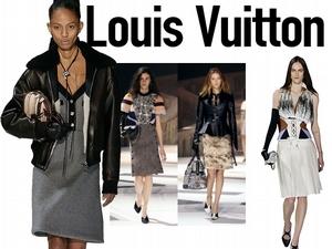 【2018秋冬巴黎女裝周】Louis Vuitton    在羅浮宮裡上太空