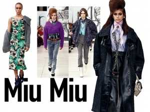 【2018秋冬巴黎女裝周】Miu Miu    那些年的女孩們