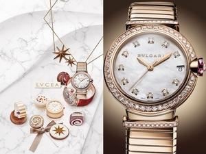 可以吃的精品!台北萬豪酒店 X BVLGARI LVCEA腕錶系列下午茶,展現流光之美