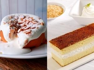 爆漿的濃郁奶香!四葉鮮奶油與全台烘焙通路合作推出「雪國系」浮誇甜點