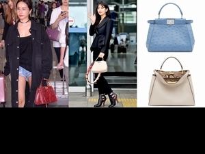 孫芸芸、Jolin蔡依林、秀智都愛這款包,女星街拍照「出鏡率最高」就是它了!