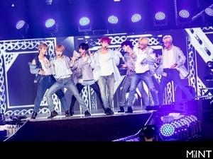 多圖/BTS防彈少年團壓軸露肌掀高潮 六韓團吸1.6萬人刷紀錄