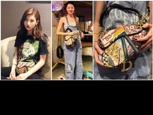 女神秀智、孔孝真都在IG上曬的包款,Dior馬鞍包2.0重奪It Bag寶座!
