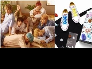 原來BTS喜歡穿帆布鞋的女孩!CONVERSE X BT21踏出時尚第一步!