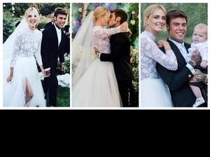 愛情與工作不用二選一!地表最強部落客Chiara Ferragni皇家級婚禮,看完讓王妃們都想再結一次婚
