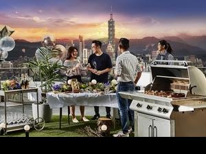 中秋烤肉也可以很有型!台北萬豪酒店兩日限定高空烤肉派對