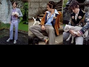 宛如一場夢幻的莊園旅程!Harry Styles摩登演繹Gucci 2019 早春男士紳裝系列