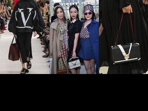 小s、吳謹言、佘詩曼同框Valentino2019春夏大秀,巨星風範完美展現