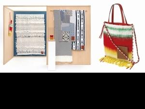 Loewe碰撞職人精神!推出米蘭家具展特別版托特包,帶你領略紡織之美