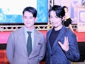 台日雙帥風靡港都! 藤岡靛、吳慷仁合體為高雄電影節揭幕
