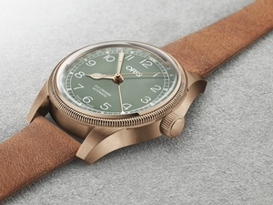 屬於妳的美麗「銅」話 Oris Big Crown指針式日期青銅錶