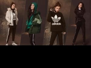 Angelababy、楊冪演繹adidas Originals LOGO 風,秋冬想帥一波看這篇就夠!