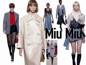 〈2019春夏巴黎女裝周〉Miu Miu  時尚的一萬種可能