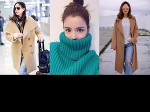 秋冬熱夯款大衣TOP5,ELLA、李毓芬這樣穿可帥可甜  你還不快「敗」一件!
