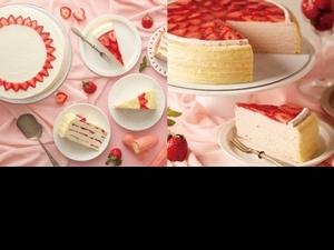 草莓控吃起來!Lady M推出期間限定草莓蛋糕即將登場