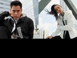 Adidas全新W.N.D.風衣 彭于晏、張鈞甯搶穿一波霸氣十足