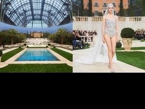 地中海花園的香奈兒—CHANEL2019高訂 壓軸新娘造型驚艷全場