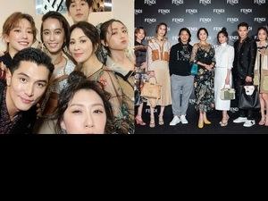 這陣仗太強大!FENDI Peekaboo 10周年展 劉嘉玲、賈靜雯、陳庭妮、邱澤 各個都開大絕啦!
