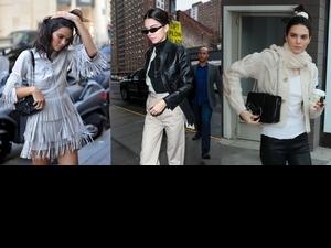 隨意搭都好看! 潮模Kendall搶揹Longchamp新包 任何style都能穩穩駕馭啦!
