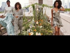 這樣的「綠」時尚好美!H&M Conscious Exclusive系列 來當個時髦的大自然女孩吧!