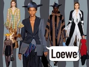 〈2019秋冬巴黎女裝周〉Loewe  前衛巧藝