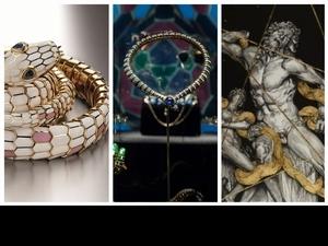 靈蛇之魅  寶格麗《SerpentiForm》珠寶藝術展